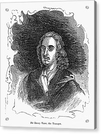 Sir Henry Vane (1613-1662) Acrylic Print by Granger