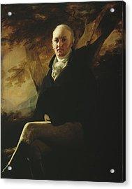 Sir James Montgomery Acrylic Print by Sir Henry Raeburn