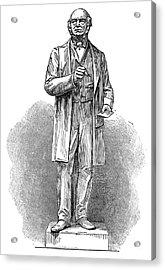 Sir Rowland Hill (1795-1879) Acrylic Print by Granger