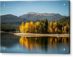 Acrylic Print featuring the photograph Siskiyou Lake by Randy Wood