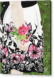 Sister Of The Groom Acrylic Print by Carla Dabney