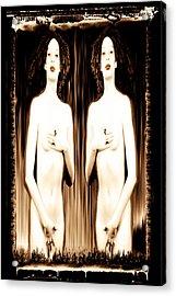 Sisters Of Silence Acrylic Print