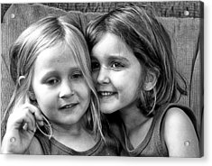 Sisters Acrylic Print by Robert Toth