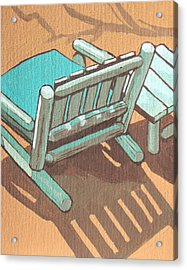 Sit Back And Relax Acrylic Print by Sandy Tracey