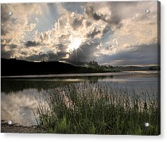 Acrylic Print featuring the photograph Sit Back...relax by Cindy Haggerty