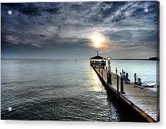 Sittin On The Dock Of The Bay Acrylic Print