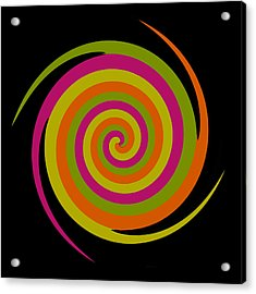 Acrylic Print featuring the photograph Six Squared With A Twirl by Steve Purnell