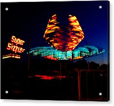 Sizzler Acrylic Print by Jessica Duede