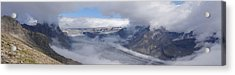 Acrylic Print featuring the photograph Skaftafell Panorama by Rudi Prott