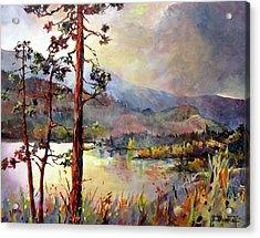 Skaha Pines Acrylic Print