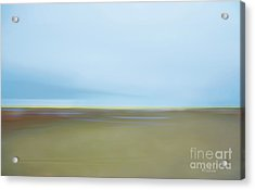 Acrylic Print featuring the photograph Skaket Tidal Flats by David Klaboe