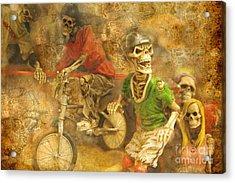 Skeleton Crew Acrylic Print