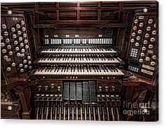 Skinner Pipe Organ Acrylic Print