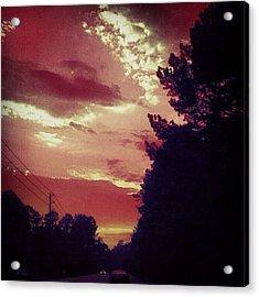 #sky 🌅 Acrylic Print