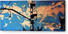 Sky - Travel Serigraphic Art Acrylic Print by Arte Venezia