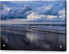 Sky And Shore Acrylic Print by Christy Usilton