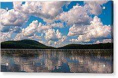 Sky At Fawn Lake Acrylic Print by Rob Amend