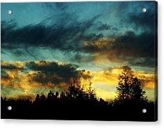 Sky Attitude Acrylic Print by Aimelle