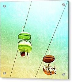 Sky Cabs Acrylic Print