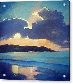 Sky Acrylic Print by Kimi Arts