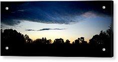 Sky Reflection Acrylic Print by Frank DiGiovanni