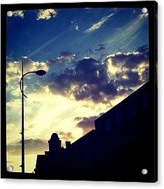 #sky #skyline Acrylic Print