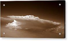 Sky Surfer Acrylic Print by Ed Smith