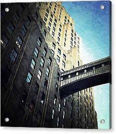 Skyscraper Passage (east 24th St) Acrylic Print