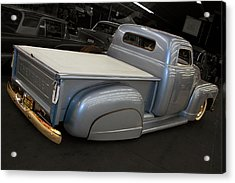 Acrylic Print featuring the photograph Slammed Pickup by Bill Dutting