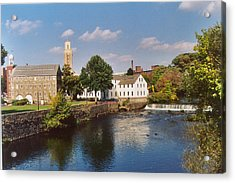 Slater Mill Complex Acrylic Print