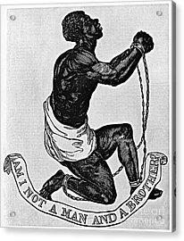 Slavery: Abolition, 1835 Acrylic Print by Granger
