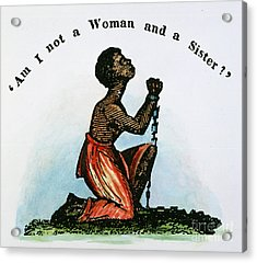 Slavery: Woman, 1832 Acrylic Print by Granger