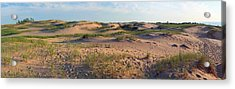 Sleeping Bear Dunes Panorama Acrylic Print by Twenty Two North Photography