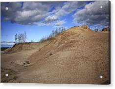 Acrylic Print featuring the photograph Sleeping Bear Dunes by Patrice Zinck