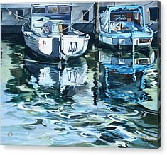 Sleepy Harbor 2 Acrylic Print by Rae Andrews