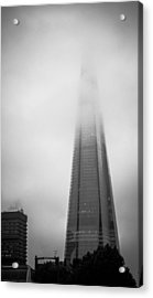Acrylic Print featuring the photograph Slicing Through The Mist by Lenny Carter