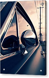 Slick As A Bullet Acrylic Print by Vorona Photography