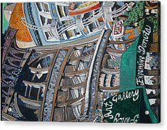Slippery Scape Acrylic Print by Joe Jaqua