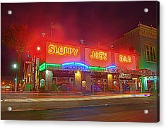 Sloppy Joes Acrylic Print