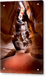 Slot Canyon Acrylic Print