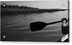 Slow Paddle Acrylic Print