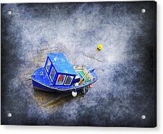 Small Fisherman Boat Acrylic Print by Svetlana Sewell
