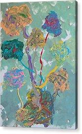 Small Grove Acrylic Print by Helene Henderson