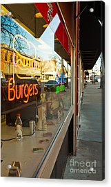Acrylic Print featuring the photograph Small Town Life by Lawrence Burry
