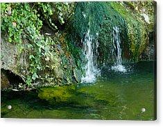 Small Waterfall Acrylic Print by Joseph Shaffer