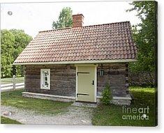 Small Wood Building Acrylic Print by Jaak Nilson