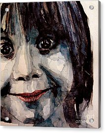Smile Acrylic Print by Paul Lovering