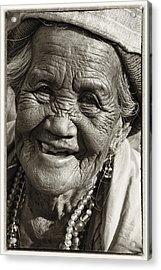 Smile Acrylic Print by Skip Nall