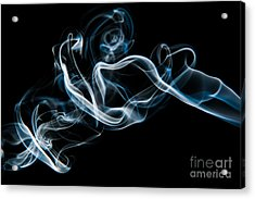 Smoke-2 Acrylic Print by Larry Carr