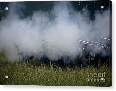 Smoke And Steel Acrylic Print by Kim Henderson